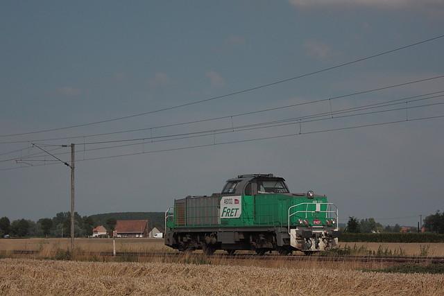 Vossloh 2433 - GA 1000 AS - BB 460133 / Hazebrouck