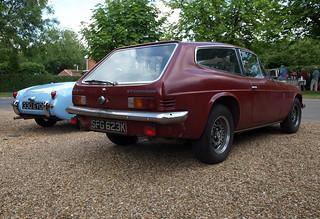 1971 Reliant Scimitar GTE (+ Sprite) | by Spottedlaurel