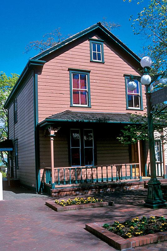 Helmcken House, Victoria, Vancouver island, British Columbia, Canada