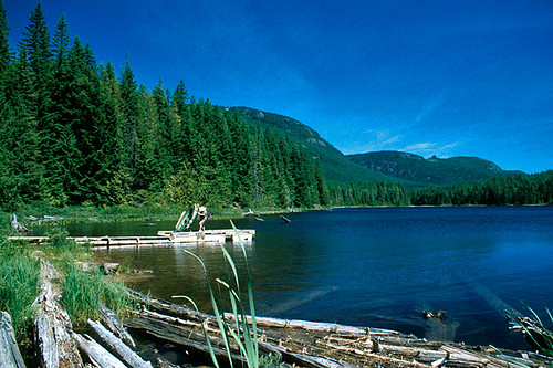 Twin Lake, Sayward Forest Canoe Route, Vancouver Island, British Columbia