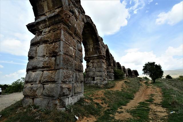 Antioch of Pisidia - Turkey  - The Roman Aqueduct