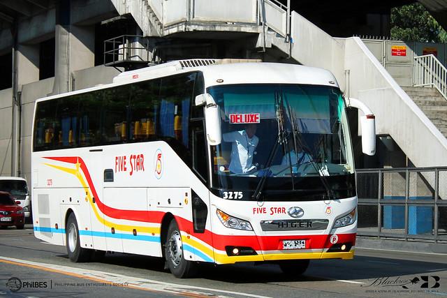 Pangasinan Five Star Bus Co., Inc. - 3275