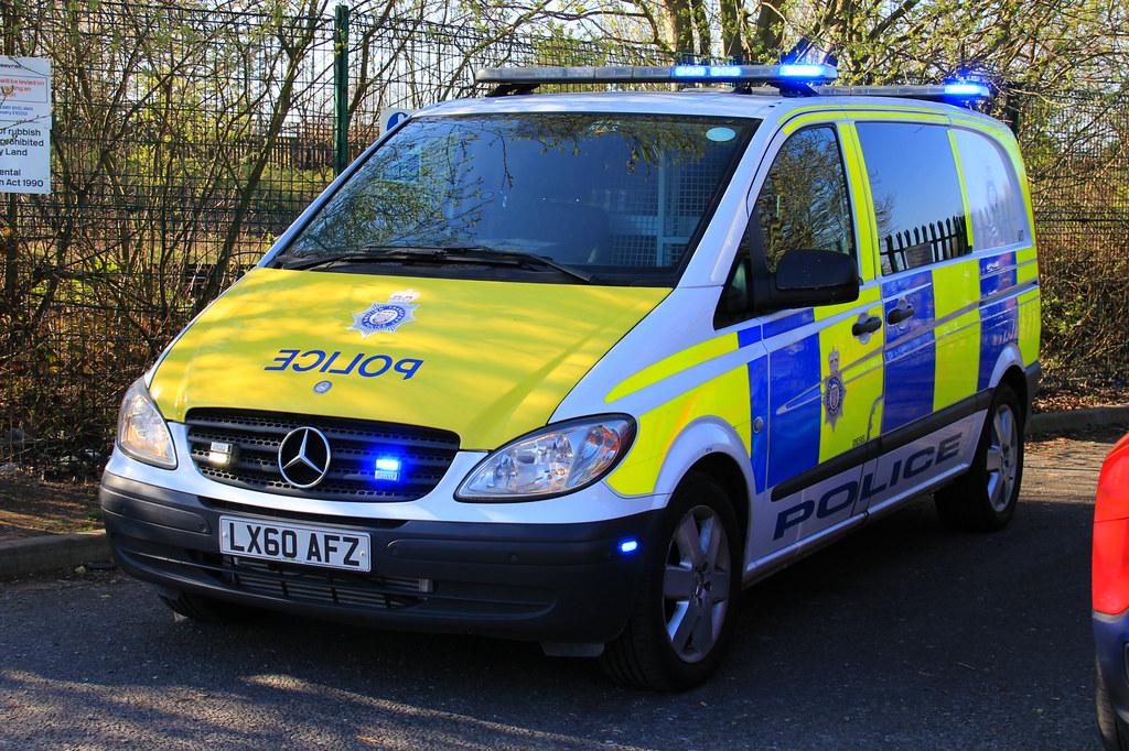 British Transport Police Mercedes Vito CBRN Response Van