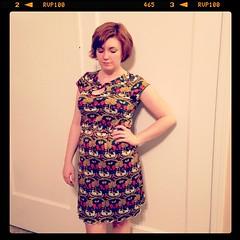 Me made May Day 8: miz Mozelle dress #mmm14 #mmmay14