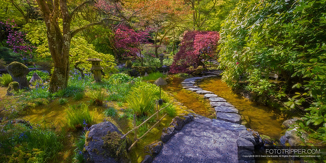 The Butchart Gardens - Enchanted Pathway