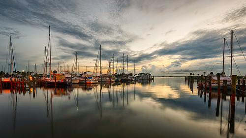Morning at the marina | by Ed Rosack