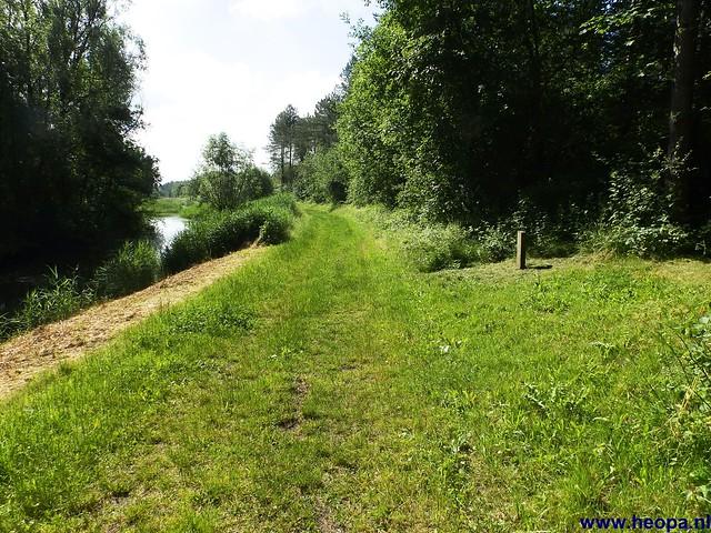 12-06-2014 Dronten Roggebotzand  20 Km (11)