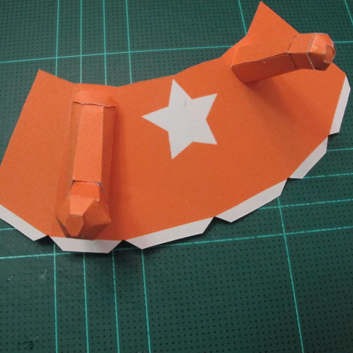 วิธีทำโมเดลกระดาษคุกกี้รัน คุกกี้รสเมฆ (Cookie Run Cloud Cookie  Papercraft Model) 007