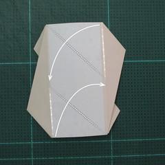 วิธีการพับลูกบอลกระดาษญี่ปุ่นแบบโคลเวอร์ (Clover Kusudama)007