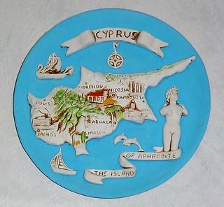 Cyprus plaque