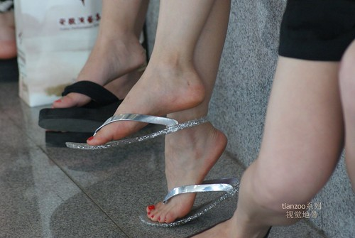 Candid Feet From China 31  If You Like Asians Chinese -7029