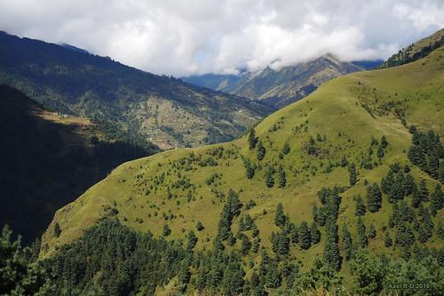 montagnes nepal préci solukhumbu
