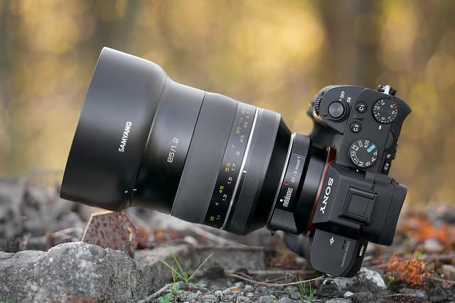 SONY ⍺7II (ILCE-7M2) & Samyang XP 85mm ƒ/1.2 on Metabones T Mark IV