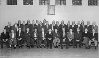 Vimy veterans, Vimy Night, 9 April 1964, Memorial Hall, General Stewart Branch No. 4 Royal Canadian Legion, Lethbridge, Alberta