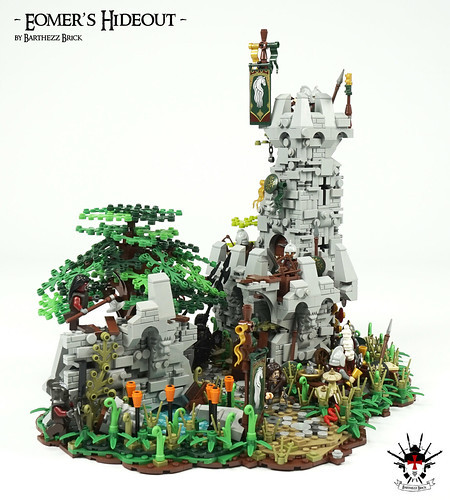 Lord Of The Rings: Eomer's Hideout -  by Barthezz Brick 6 | by Barthezz Brick