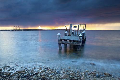 longexposure sunset sea seascape color waterfront surreal marthasvineyard dramaticsky canonef1740mmf4lusm canon6d vineyardheaven pwlandscape