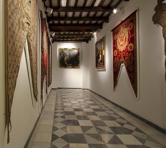 Paradas, Spain - The Sacristy, 'Iglesia Parroquial de San Eutropio'