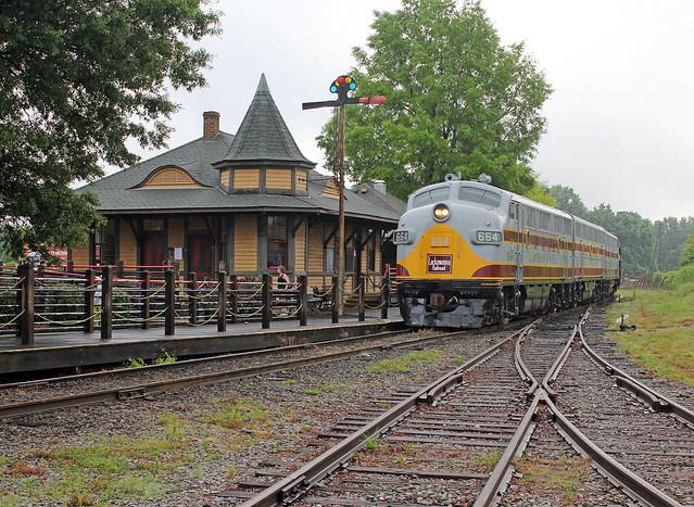 Streamliners Festival -- Delaware, Lackawanna & Western