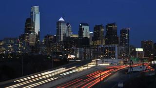 Philadelphia Night Skyline | by Chris Hunkeler