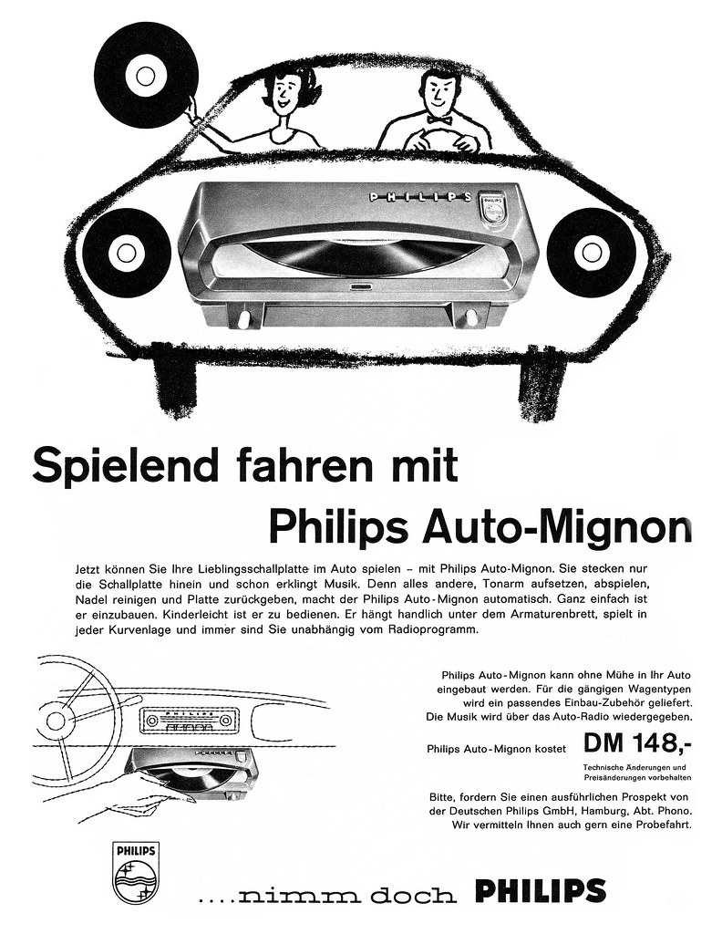 Philips 1960 Auto-Mignon  Spielend fahren mit Philips Aut  Flickr