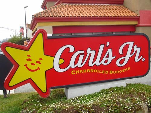 Carl's Jr Logo Sign