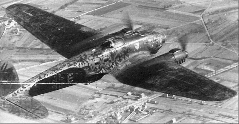 "Heinkel He 111P-2 of KG 55 ""Greif"""