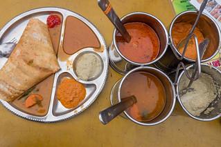 Masala Dosa and sauce.jpg | by crystalcastaway