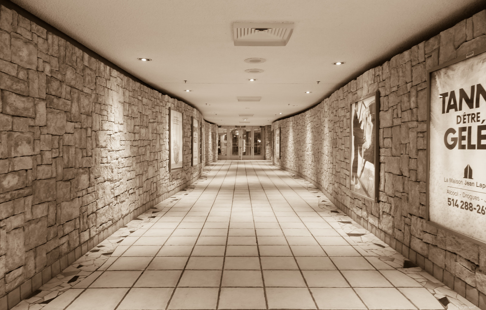 Tunnels of the Underground City