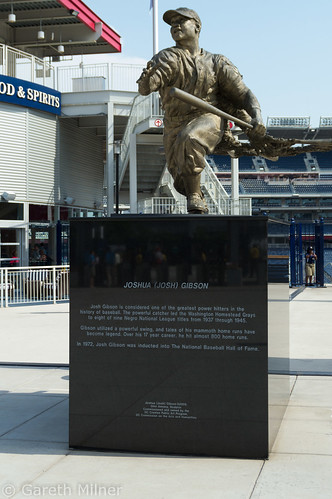 Josh Gibson Statue   by mrgarethm