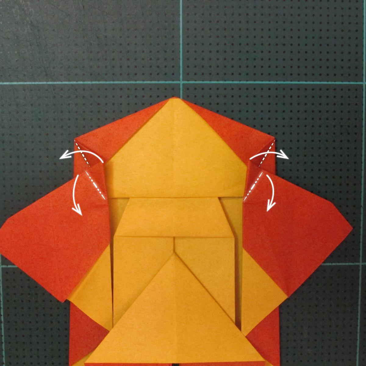 การพับกระดาษเป็นรูปปลาคาร์ฟ (Origami Koi Fish) 022