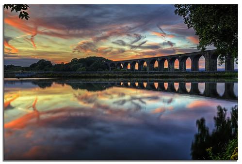 sunset water yorkshire ngc reservoir d600 hewenden spectacularsunsetsandsunrises nikkor1635mmf4 nikonfxshowcase