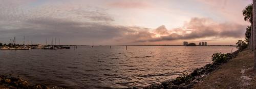fortmyers florida northfortmyers river c caloosahatchee caloosahatcheeriver boats sailboats boat sunrise