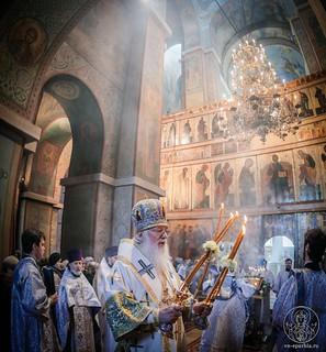Литургия в Софийском соборе 255