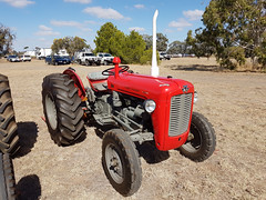 Massey Ferguson Tractor 35,35 X /& 135 Volante Set