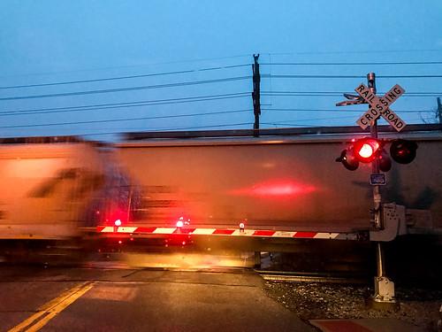 sunrise train railroad bayvillage ohio unitedstates us
