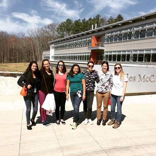 Fri, 04/07/2017 - 16:30 - From left to right: Yoselyn Lergier (ForestGEO/STRI), Zuriani Martinez (ForestGEO/STRI), Lauren Krizel (ForestGEO), Dalys Espinosa (ForestGEO/STRI), Natasha Bhatia (NTU), Jess Shue (SERC/ForestGEO), and Haley Overstreet (ForestGEO)
