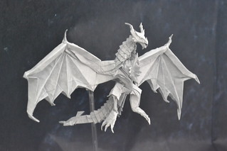 Origami Alduin the World-Eater | by ToHS Origami