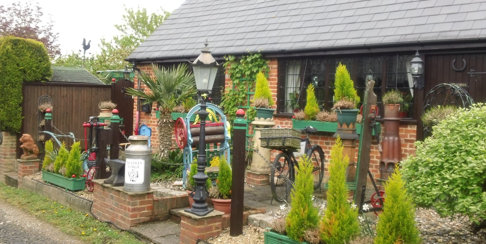 Forge along the Greensand Way