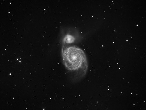 M51 - Whirlpool Galaxy | by jochta