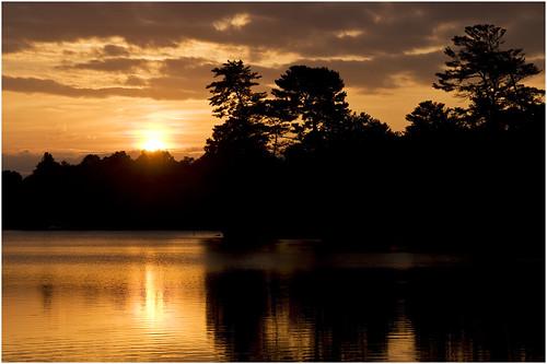 sunset lake nature water landscape asheville dusk northcarolina carolina beaverlake evensong westernnorthcarolina northasheville joefranklin almostanything bairdflats