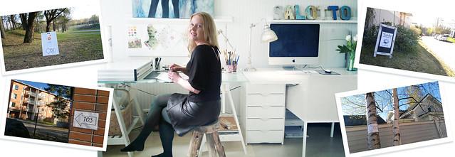 #taidesuunnistus2014 Julia Prusi