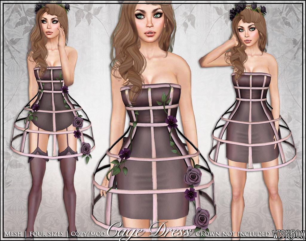 [Wishbox] Cage Dress (Timeless)