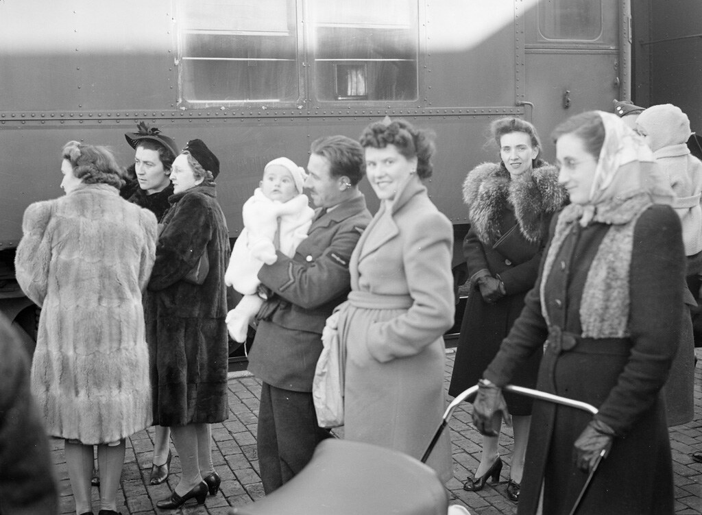 Train, about 1940-1945