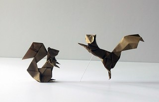 squirrel | by paper folding artist redpaper