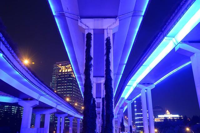 Shanghai - Blue Roads