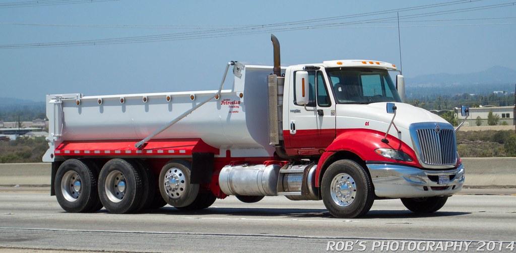 International ProStar dump truck   Robert Wityczak   Flickr