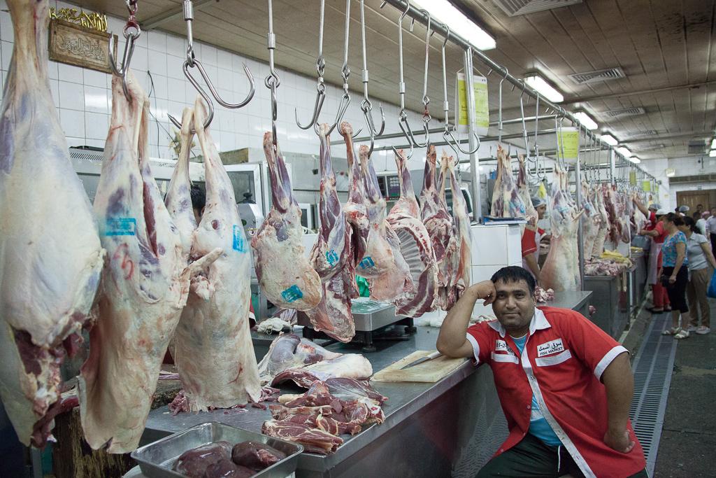 Dubai (Deira): Meat Market   Dubai (Deira): Meat Market   Flickr