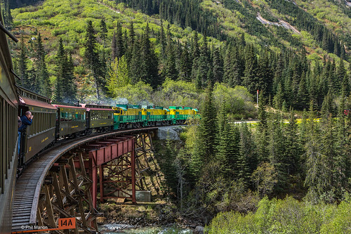 Scenic train ride on White Pass & Yukon Route Railroad - near Alaska/Yukon border | by Phil Marion (173 million views - THANKS)