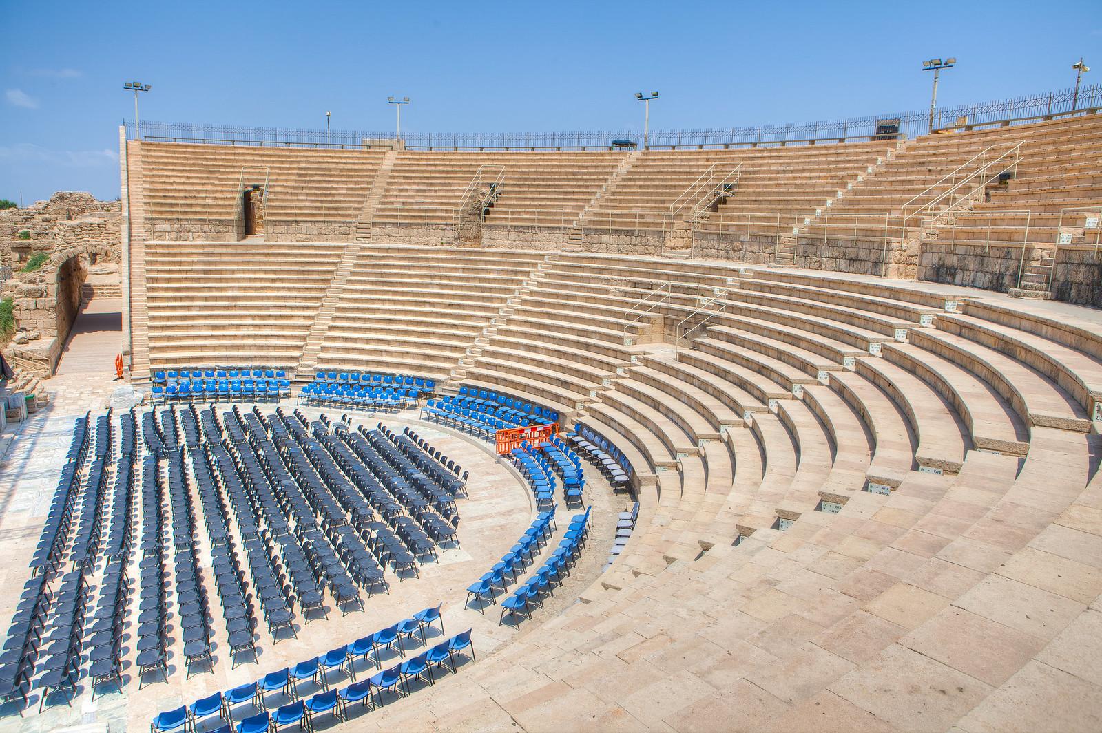 Caesarea _amphitheater_ Dana Friedlander_ IMOT