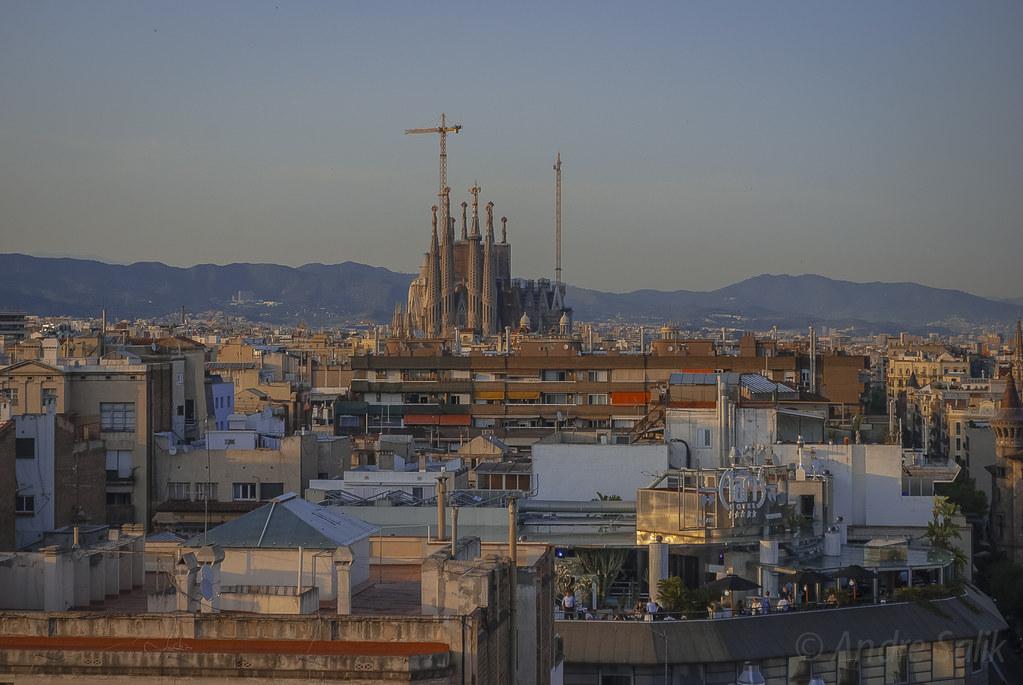 воспоминания о летней Барселоне